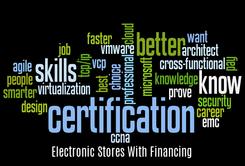 Electronic Stores with Financing