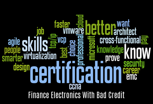 Finance Electronics with Bad Credit