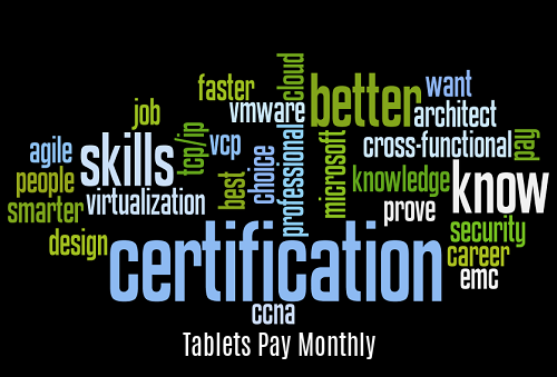 Tablets Pay Monthly